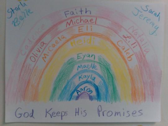 2015-07-12 Daystar kids - Rainbow