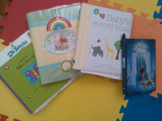 Baby Books and Prayer Journals
