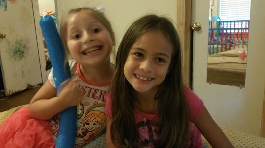 Micaela and Grace