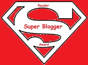 SuperBlogger Reader Award